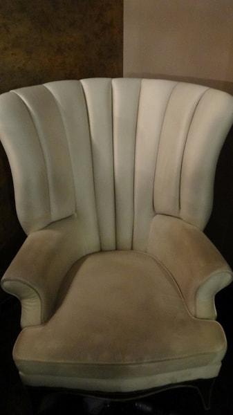Химчистка кресла до