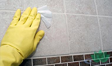 Чем отмыть плитку после ремонта